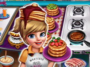 Cooking Fast 3 Ribs And Pancakes Online